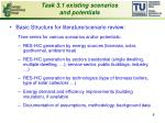 task 3 1 existing scenarios and potentials