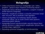 holografija