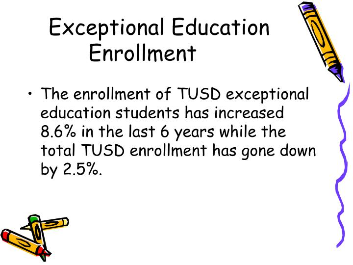 Exceptional Education Enrollment