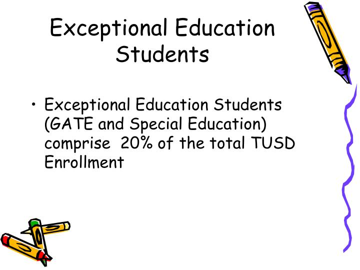 Exceptional Education Students