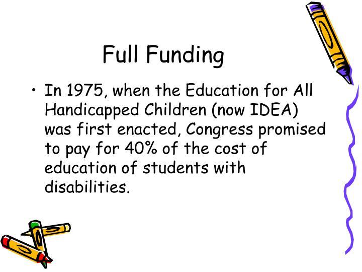 Full Funding