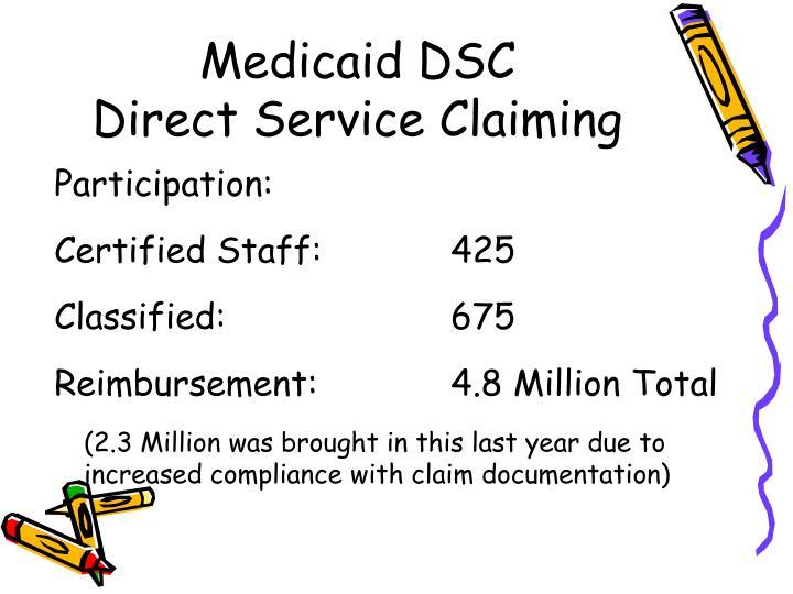 Medicaid DSC