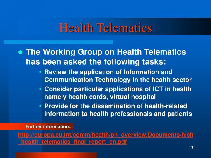 Health Telematics