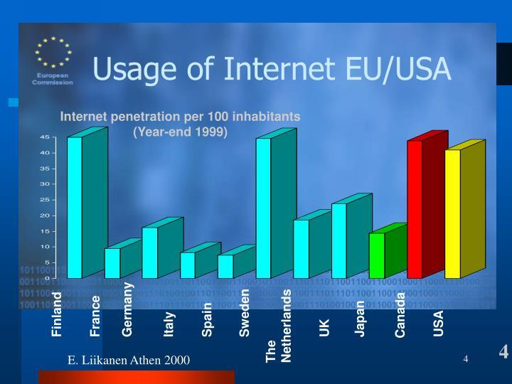 Számítógépek használata EU/USA