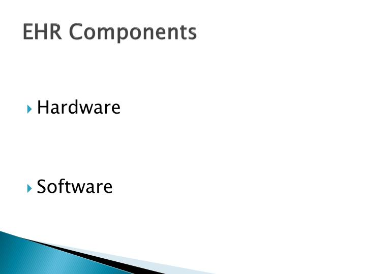 EHR Components