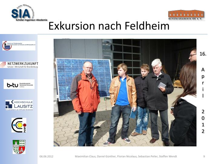 Exkursion nach