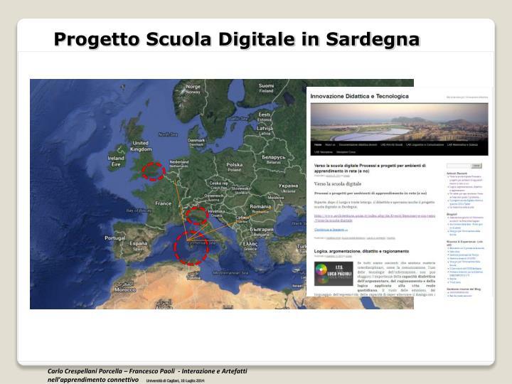Progetto Scuola Digitale in Sardegna