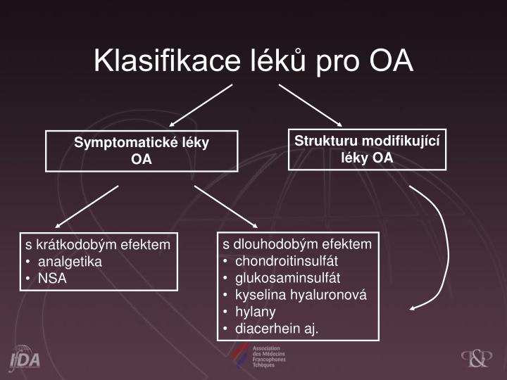 Klasifikace lk pro OA
