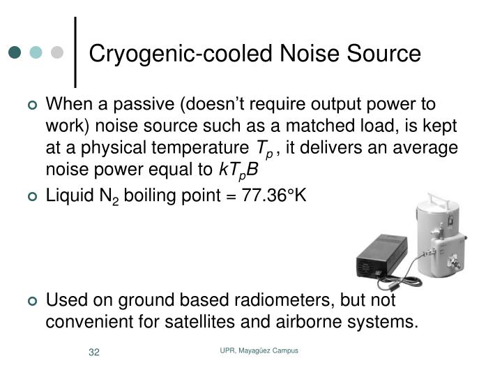 Cryogenic-cooled Noise Source
