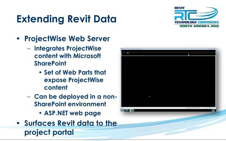Extending Revit Data