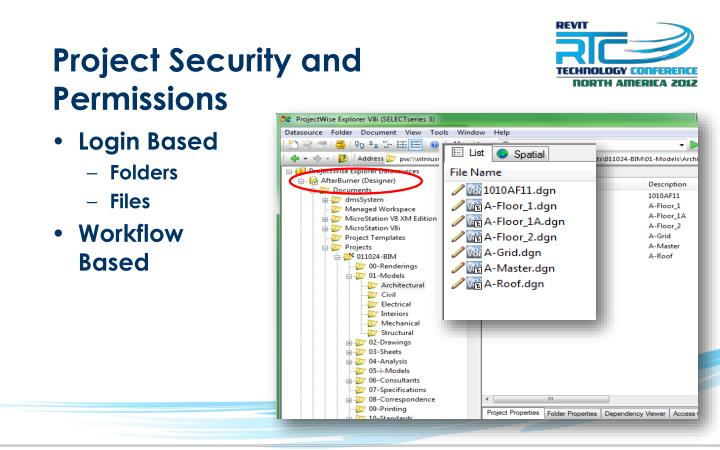 Project Security and Permissions