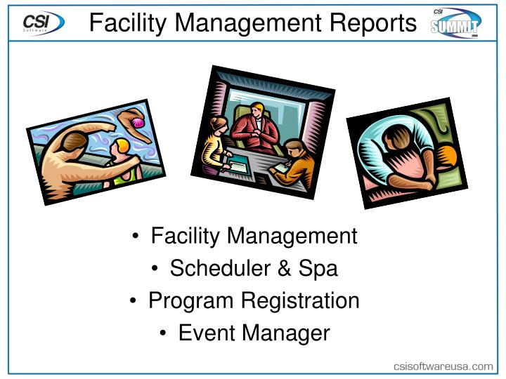 Facility Management Reports
