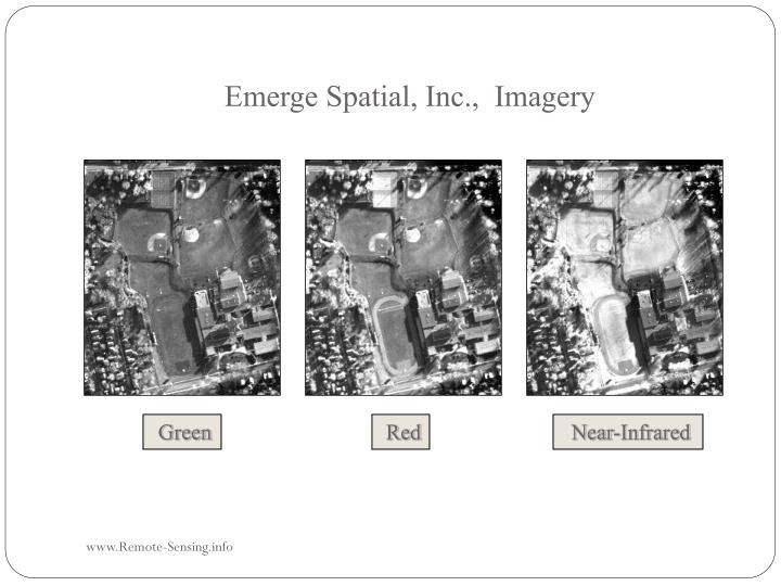 Emerge Spatial, Inc.,  Imagery