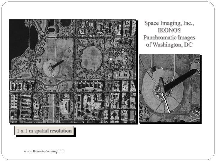 Space Imaging, Inc., IKONOS