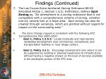 findings continued1