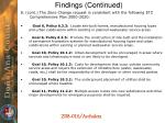 findings continued2
