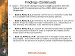 findings continued4