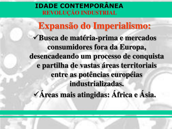 Expansão do Imperialismo: