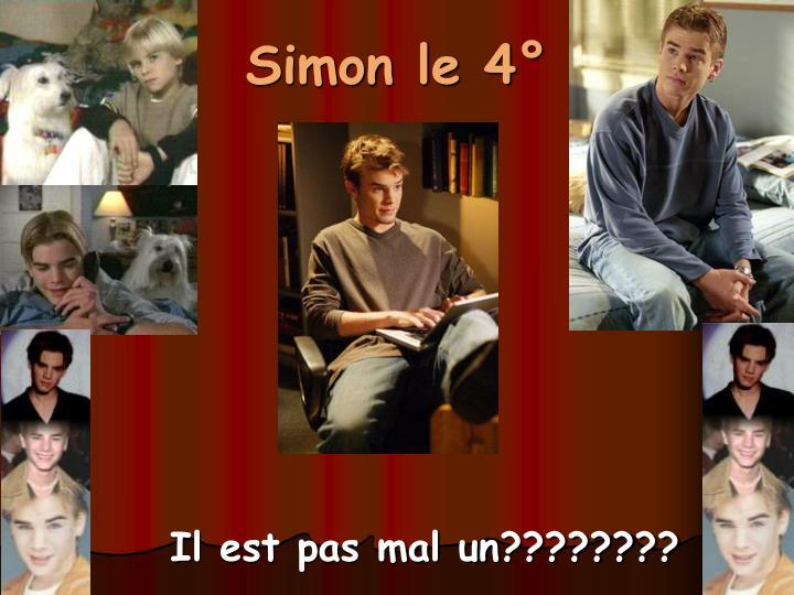 Simon le 4°