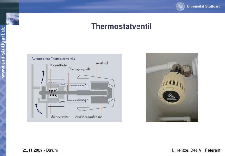 Thermostatventil