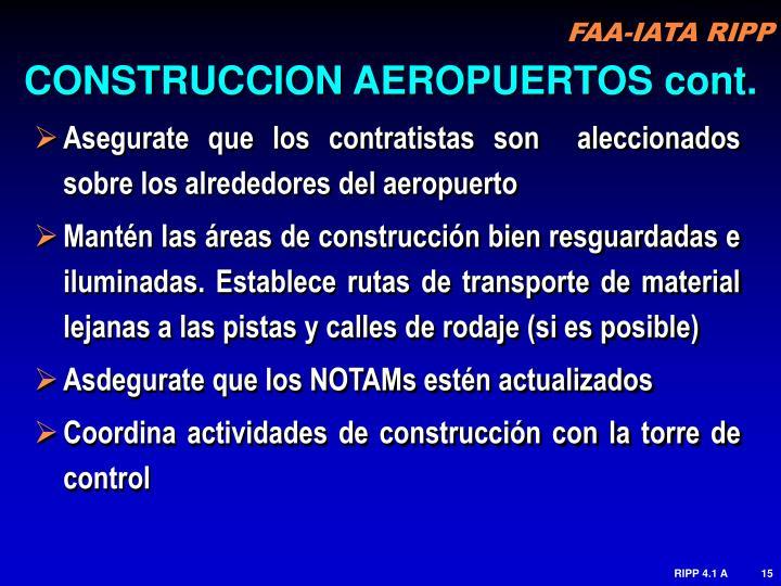 CONSTRUCCION AEROPUERTOS cont.