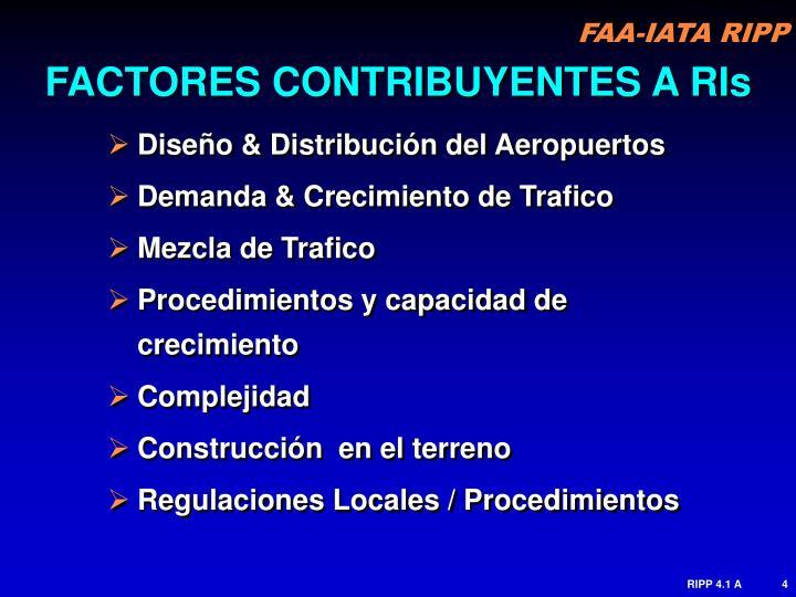 FACTORES CONTRIBUYENTES A RIs