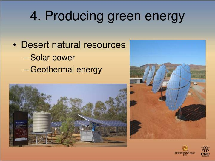 Desert natural resources