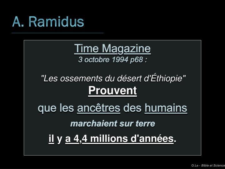 A. Ramidus