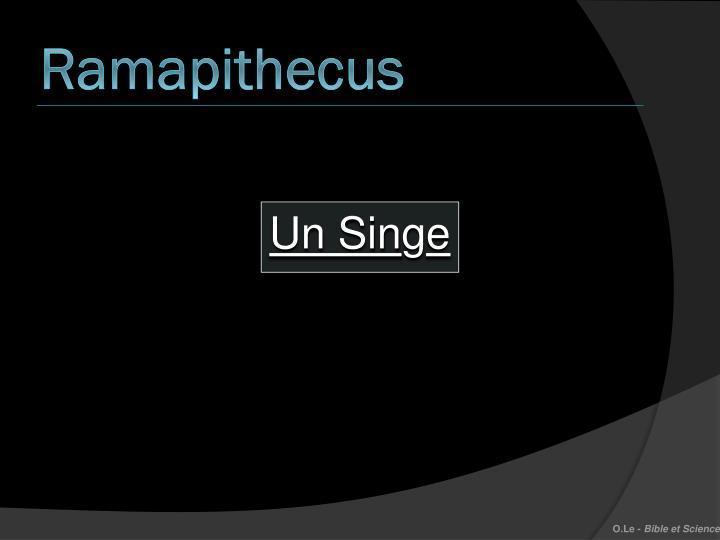 Ramapithecus