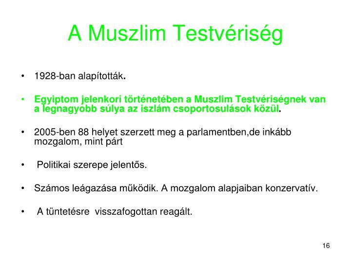 A Muszlim Testvériség