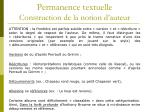 permanence textuelle construction de la notion d auteur2