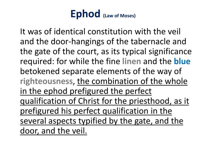 Ephod
