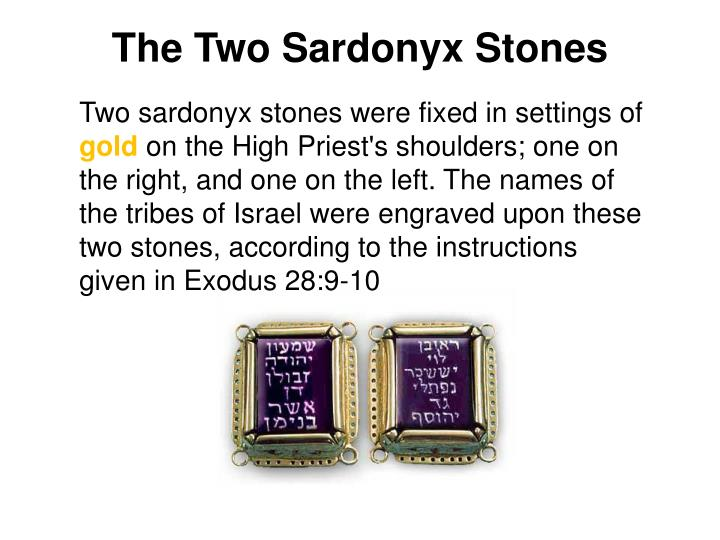The Two Sardonyx Stones