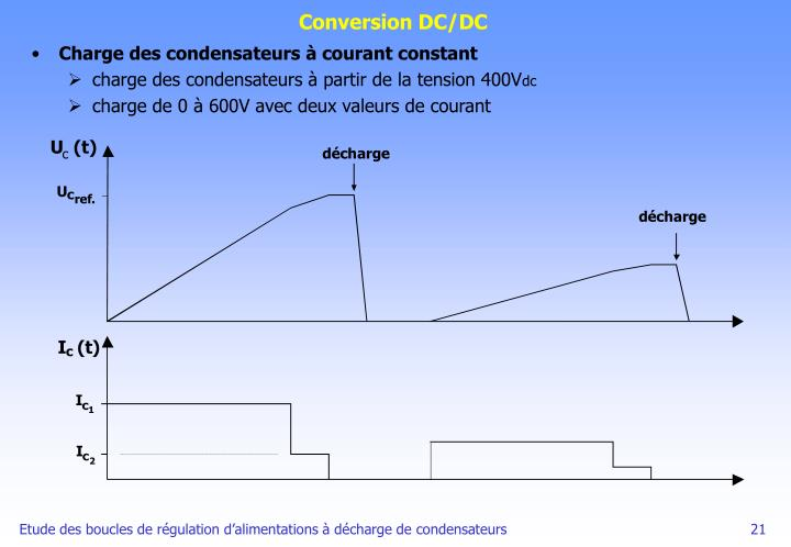 Conversion DC/DC