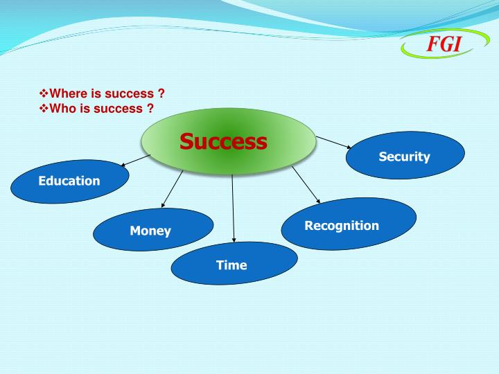 Where is success ?