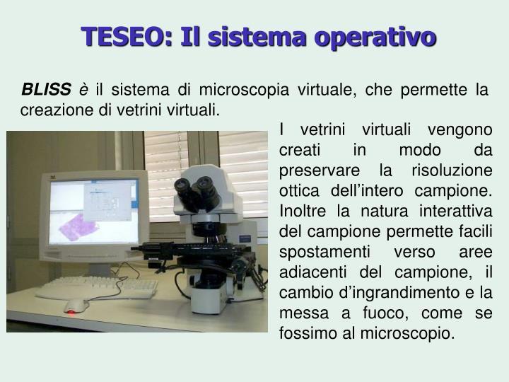 TESEO: Il sistema operativo