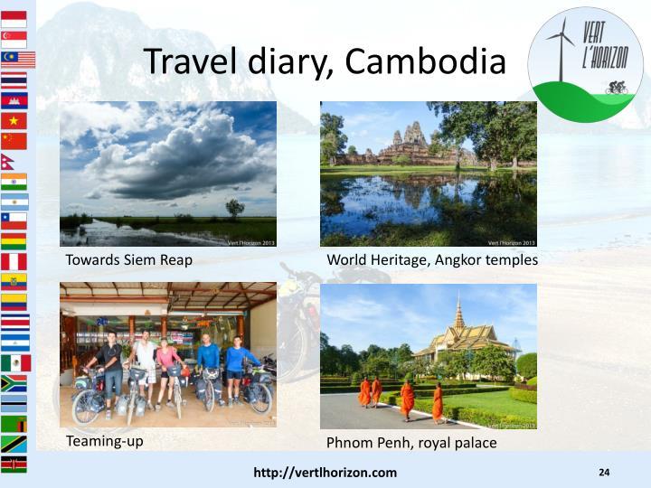 Travel diary, Cambodia