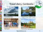 travel diary cambodia