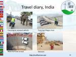 travel diary india