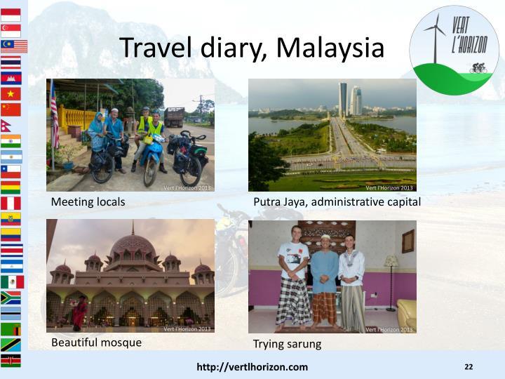 Travel diary, Malaysia