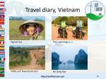 travel diary vietnam