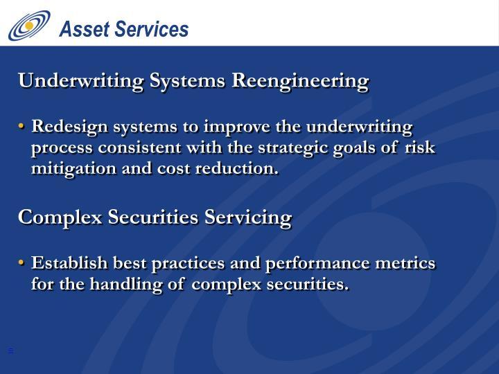 Asset Services