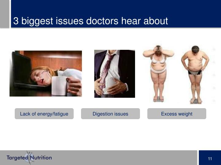 3 biggest issues doctors hear about