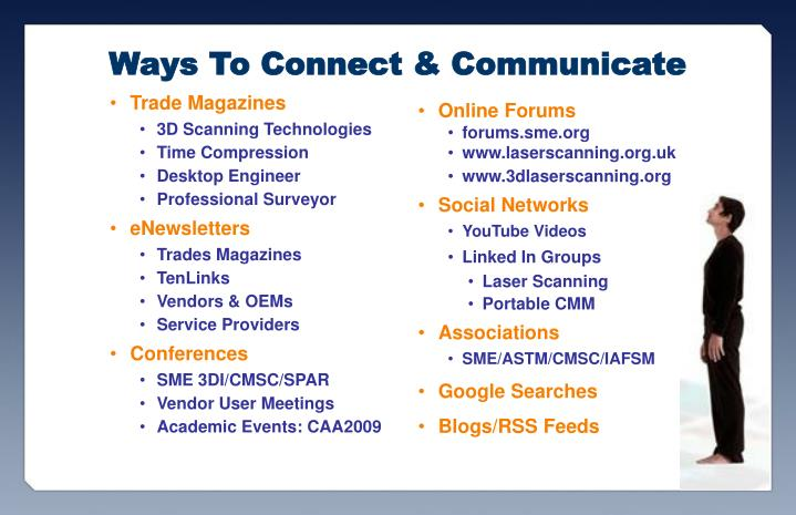 Ways To Connect & Communicate