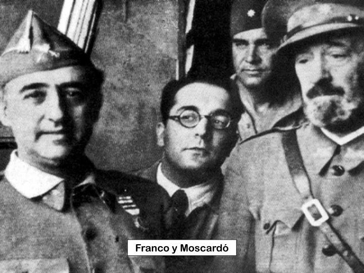 Franco y Moscardó