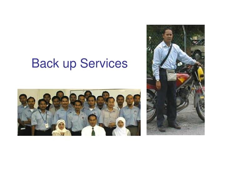 Back up Services