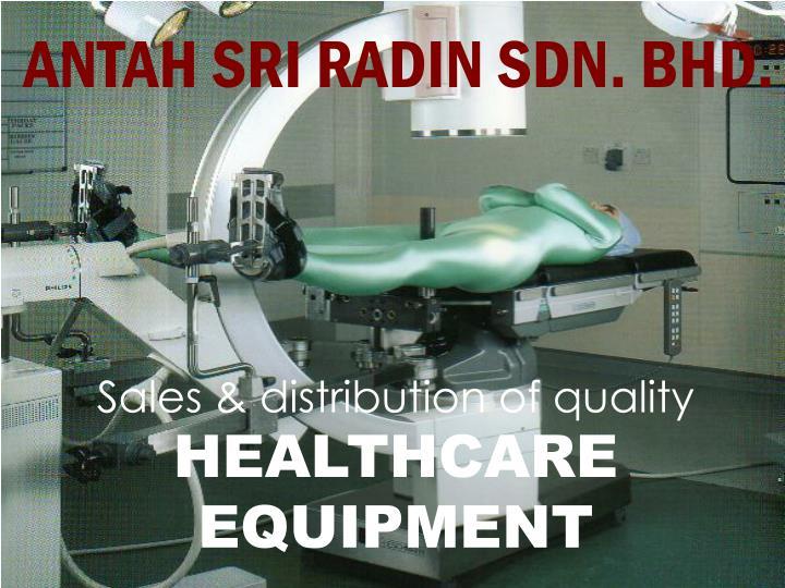 ANTAH SRI RADIN SDN. BHD.