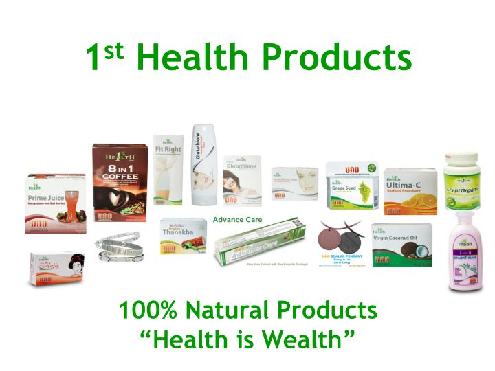 1 st health products
