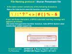 file naming protocol aturan penamaan file1