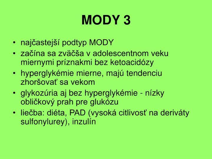 MODY 3